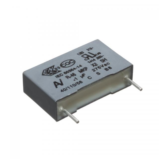 2.2 uF X2 275V ±10% MKP R.46 RM=37.5mm