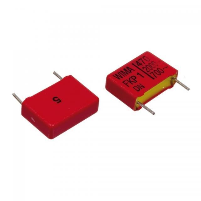 1 nF 2000/700V ±5% FKP-1 RM=15mm
