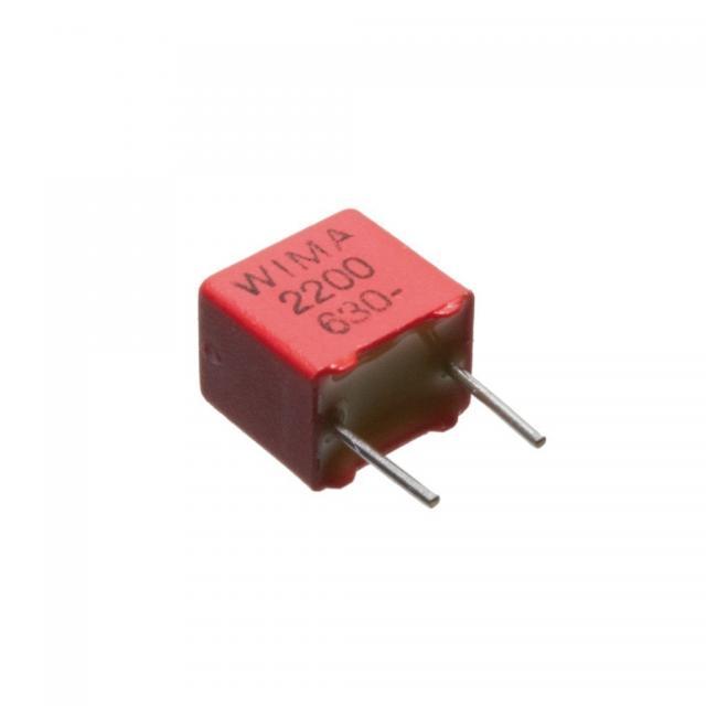 1 nF 100/63V ±2.5% FKP-2 RM=5mm